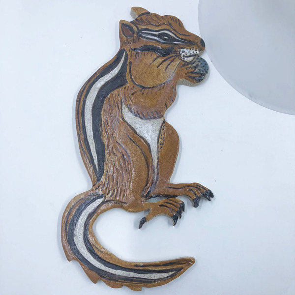 back splash, chipmunk, mosaic, art tile